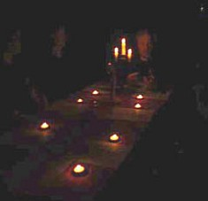 Chicago paranormal host and Medium Edward Shanahan and his Circle of Energy Seance